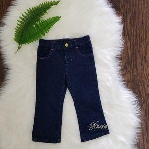 3/20$  XOXO Baby | Dark Blue Baby Jeans NWOT
